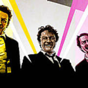 Reservoir Dogs Art Print by Jeremy Scott
