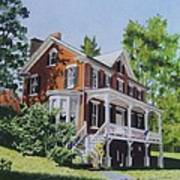 Residence In Sussex County Art Print