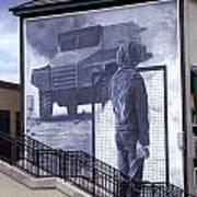 Derry Mural Resistance Art Print