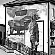 Resistance Mural In Derry Art Print