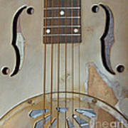 Resonator Detail Art Print