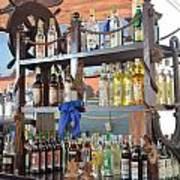 Resort Cantina Bar Wine-liquor-beer Art Print