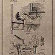 Respirator Patent Illustration 1911 Art Print