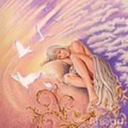 Rest In Peace Art Print by Elizabeth Dobbs