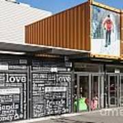 Restart Container Stores Art Print