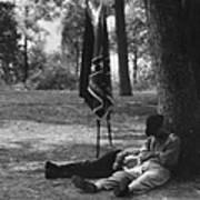 Resting At Gettysburg Art Print