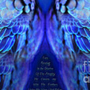 Psalm 91 Wings Art Print