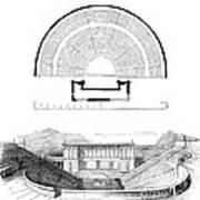 Restoration Of The Greek Theater Art Print