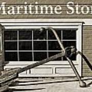 Restored Maritime Store Art Print