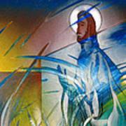 Resurrection Of Christ 1990 Art Print