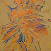Retrato De Una Bailarina Art Print