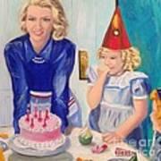 Retro Birthday Art Print