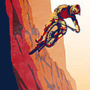 Retro Cycling Fine Art Poster Good To The Last Drop Art Print