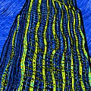Retro Empire State Building Art Print