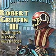 Retro Sci Fi Rg3 Art Print