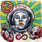 Return Of The Astro-goth Art Print