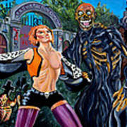 Return Of The Living Dead Art Print