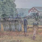 Return To Gettysburg Art Print
