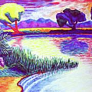 Return To Morgan's Pond Art Print