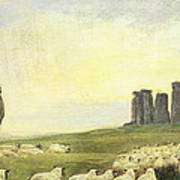 Returning Home     Stonehenge Art Print