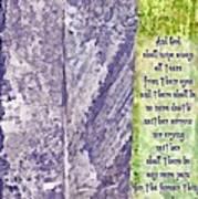 Revelation 21 4 Art Print