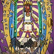 Revelation Chapter 4 Art Print