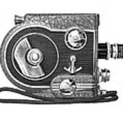 Revere 8 Movie Camera Art Print