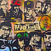 Revolutionary Hip Hop Art Print