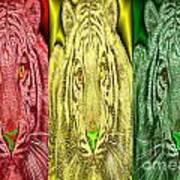 Revolutionary Tigre Ital Art Print