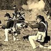Revolutionary War Battle Art Print