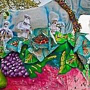 Rex Mardi Gras Parade II Art Print