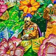 Rex Mardi Gras Parade X Art Print