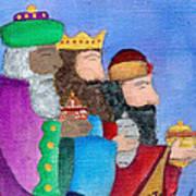 Reyes Magos Art Print