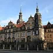 Rezidenzschloss - Dresden  -  Germany Art Print