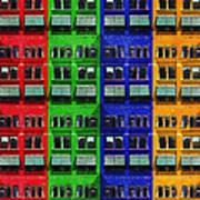 Rgby - Downtown Apartments Art Print