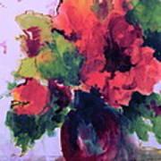 Rhapsody Of Flowers Art Print