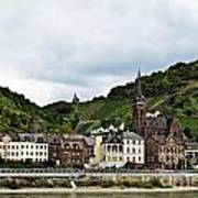 Rhine River View Art Print