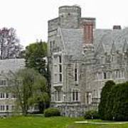 Rhoads Hall Bryn Mawr College Art Print