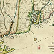 Rhode Island 1780 Art Print