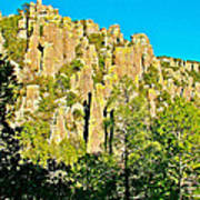 Rhyolite Columns On Ed Riggs Trail In Chiricahua National Monument-arizona Art Print
