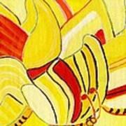 Rhythm Of Butterflies Art Print