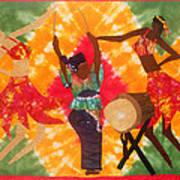 Rhythms Art Print by Aisha Lumumba