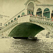 Rialto Bridge Art Print