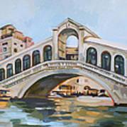 Rialto Bridge Art Print