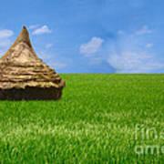 Rice Farming Art Print