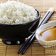Rice Meal Art Print by Elena Elisseeva