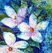 Ricepaper Blooms Art Print