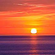Rich Sunset Art Print