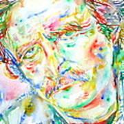 Richard Brautigan  Art Print