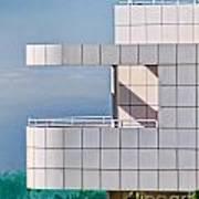 Richard Meier's Getty Art Print